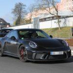 2017 Porsche 911 Sport Classic spy shots-3