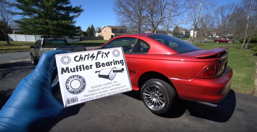 ChrisFix-How to replace a muffler bearing