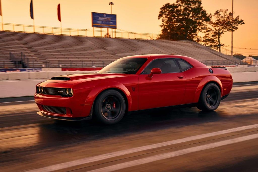 Dodge Challenger Demon leaked image-NY Auto Show