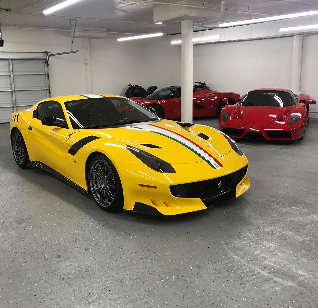 David Lee Reveals His One Off Ferrari F12tdf Dskl The Supercar Blog