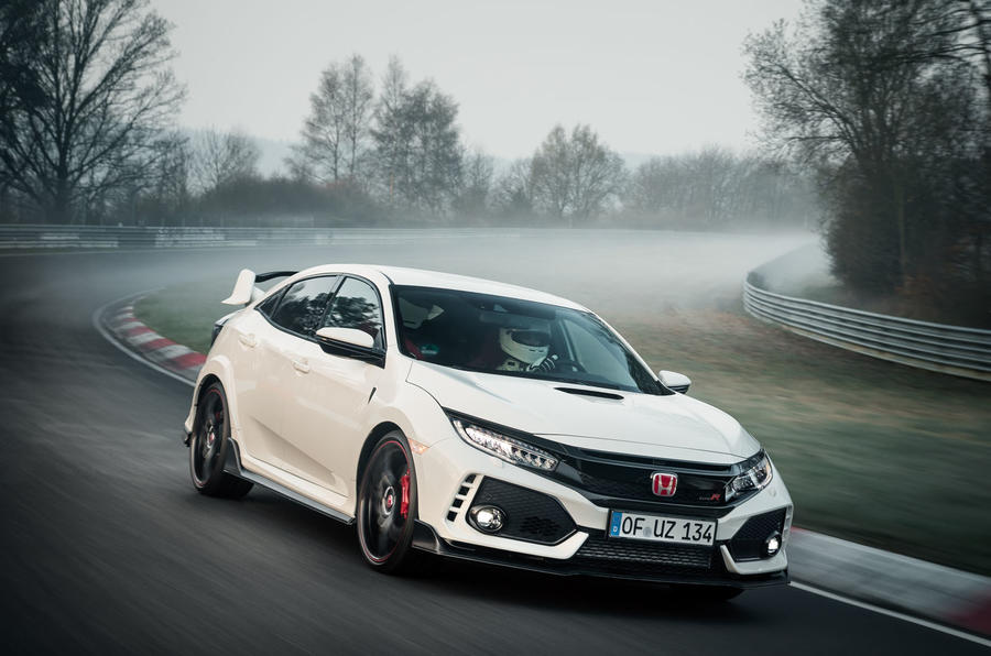 Honda Civic Type R-Nurburgring FWD Record-1