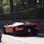 Lamborghini Huracan Performante Spyder-spy shots-2
