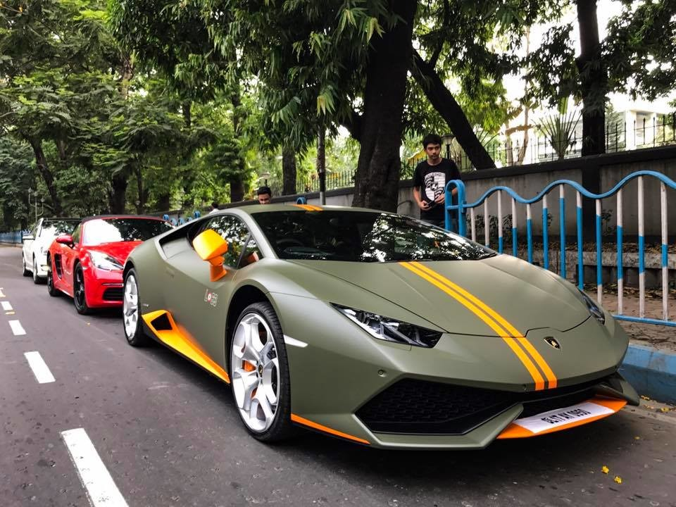 Rare Lamborghini Huracan Avio Spotted In Kolkata India The