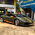 Verde Turbine-Lamborghini Huracan Avio-Kolkata-India-3