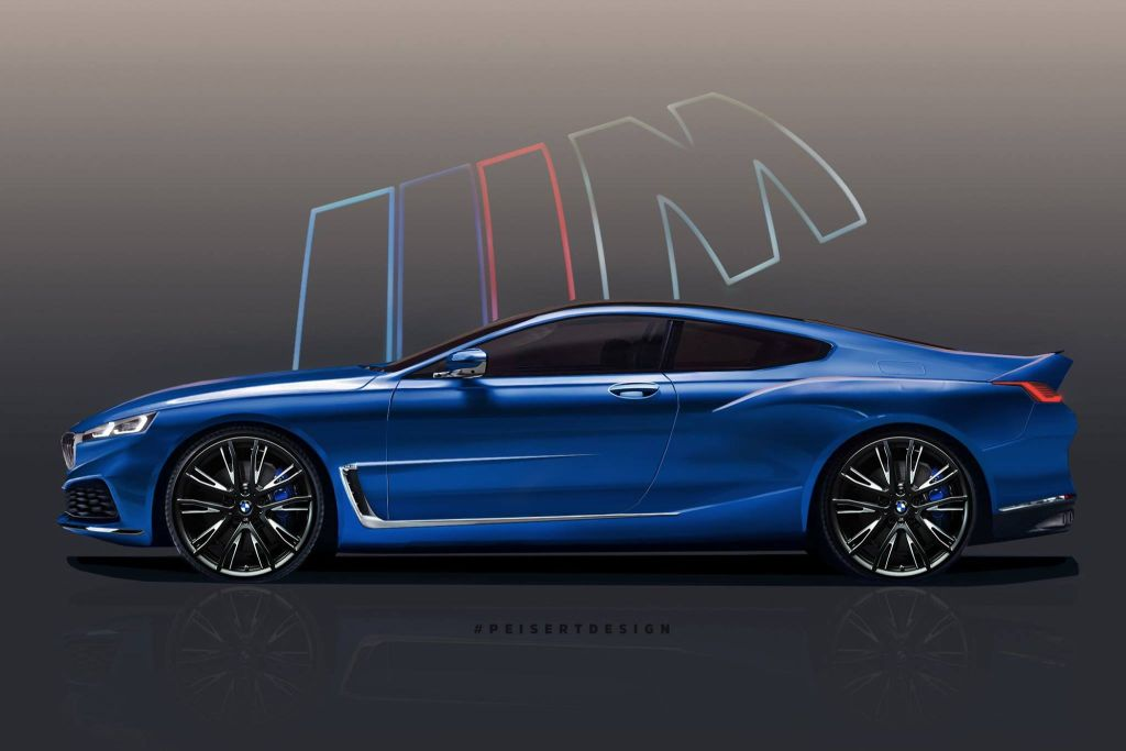 BMW M8 Coupe Rendering-Peisert Design