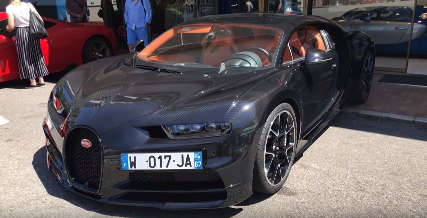 Exposed Carbon Fiber Bugatti Chiron-Monaco