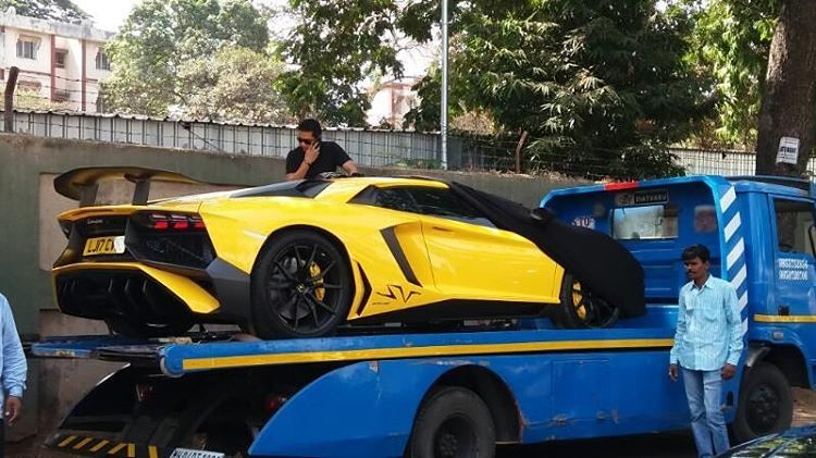 Lamborghini Aventador SV-Gautam Singhania-Mumbai