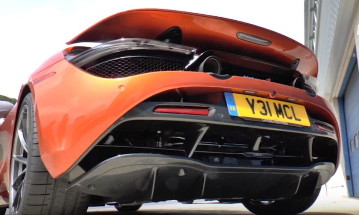 Mclaren 720s Hot Start Mode Is An Easter Egg Hiding In Plain Sight The Supercar Blog
