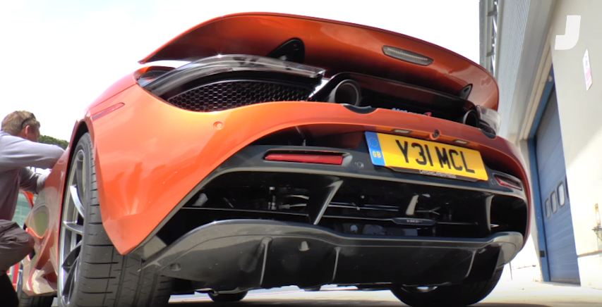 McLaren 720S Hot Start Mode-Easter Egg-Loud Exhaust