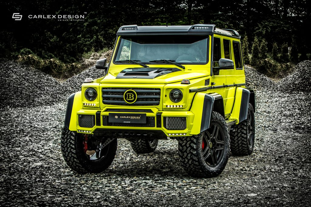 Mercedes-Benz Brabus G500 4x4² by Carlex Design-23
