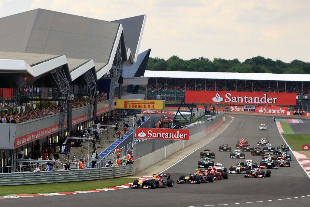 Silverstone-Formula 1 circuit