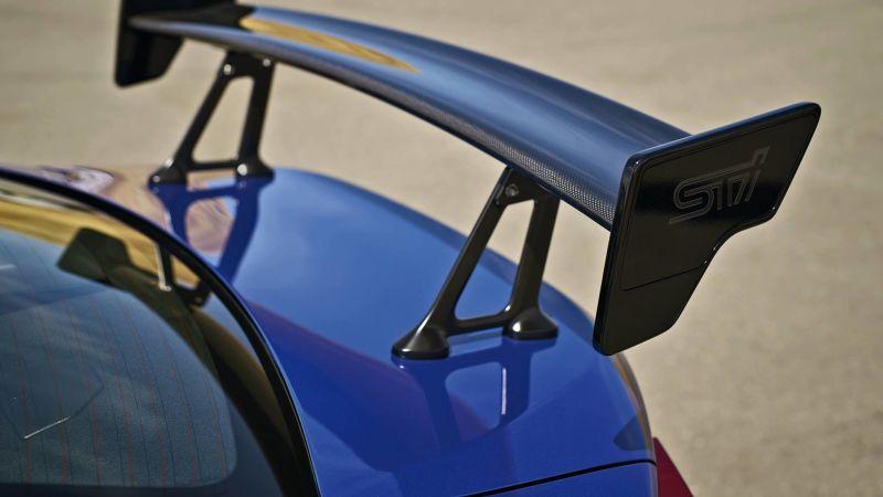 Subaru BRZ STI carbon fiber spoiler-teaser image