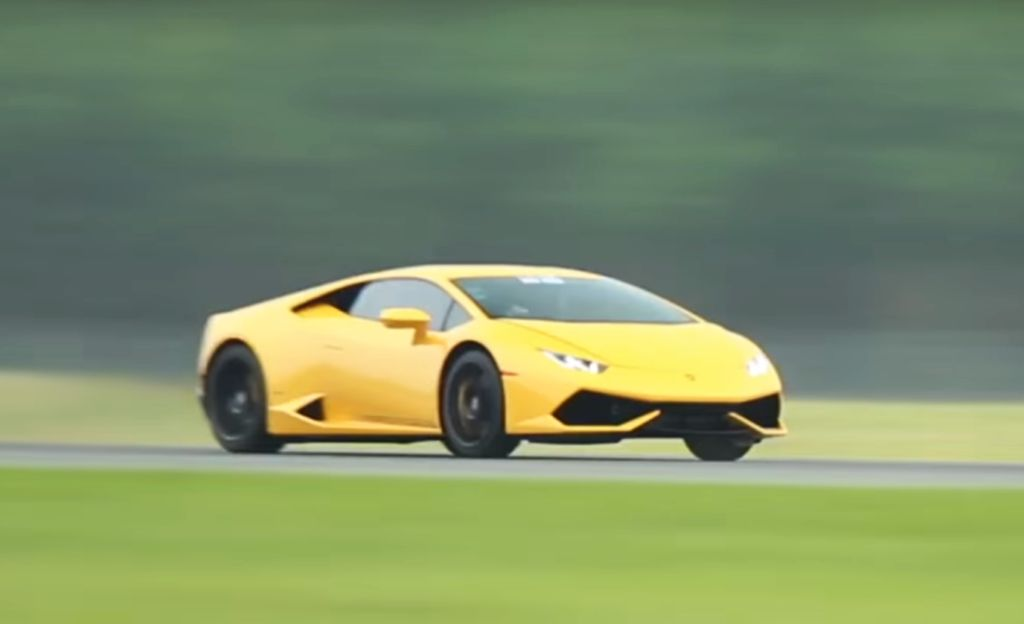 Twin-turbo Lamborghini Huracan-UGR-Half Mile World Record