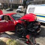 Ferrari 488 GTB crash-Sandton-South Africa-1