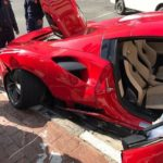 Ferrari 488 GTB crash-Sandton-South Africa-2