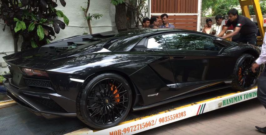 Lamborghini Aventador S-Bangalore-India