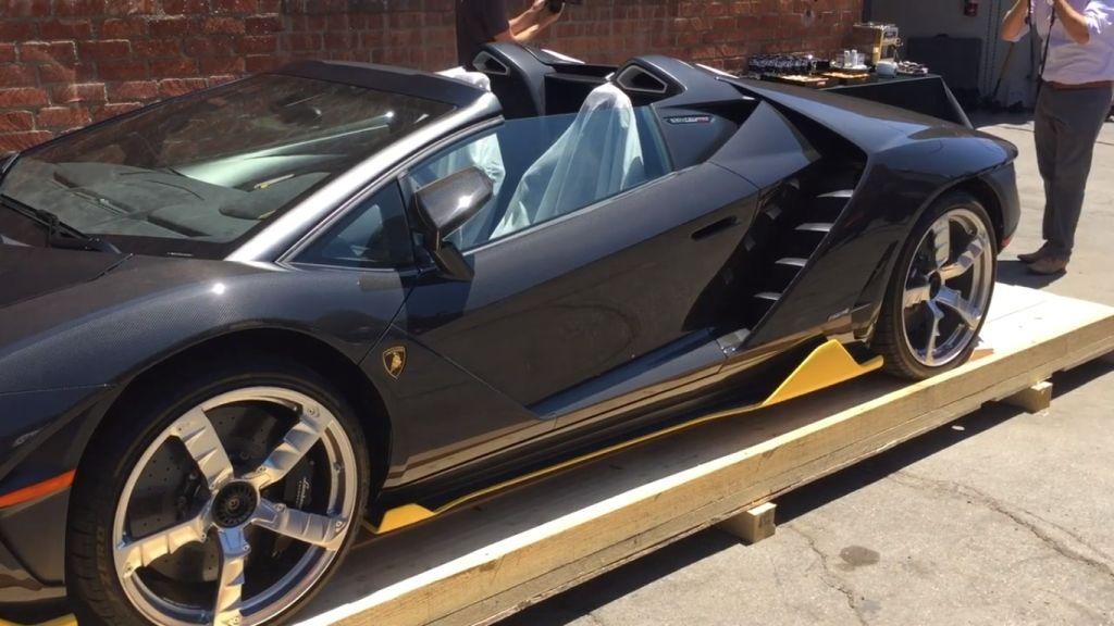 Lamborghini Centenario Roadster-Beverly Hills