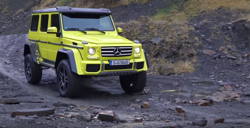 Mercedes G500 4x4 Squared-Chris Harris
