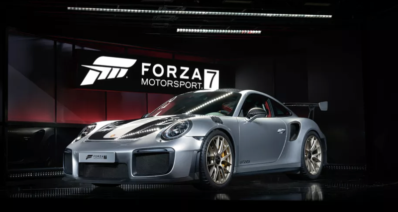 Porsche 911 GT2 RS-E3 2017-Forza 7-Cover Car