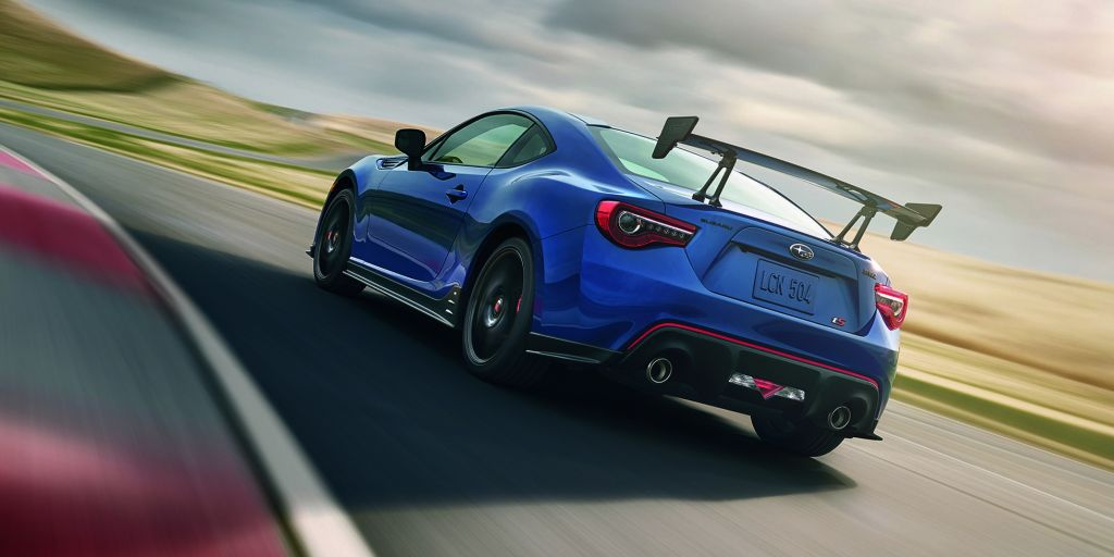 Subaru BRZ tS-rear-view