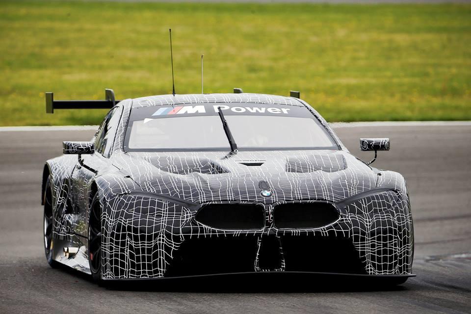 2018 BMW M8 GTE-Le Mans-WEC-Race Car-1
