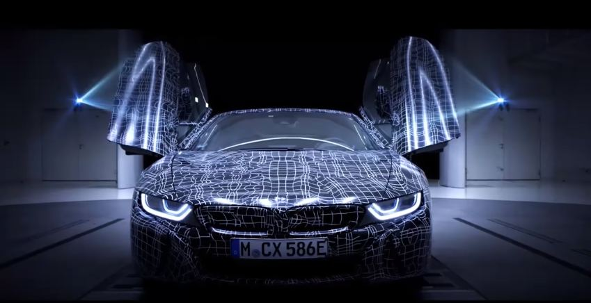 BMW i8 Roadster Teaser Video