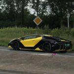 Dutch Lamborghini Centenario-Yellow-Black-Spec-1