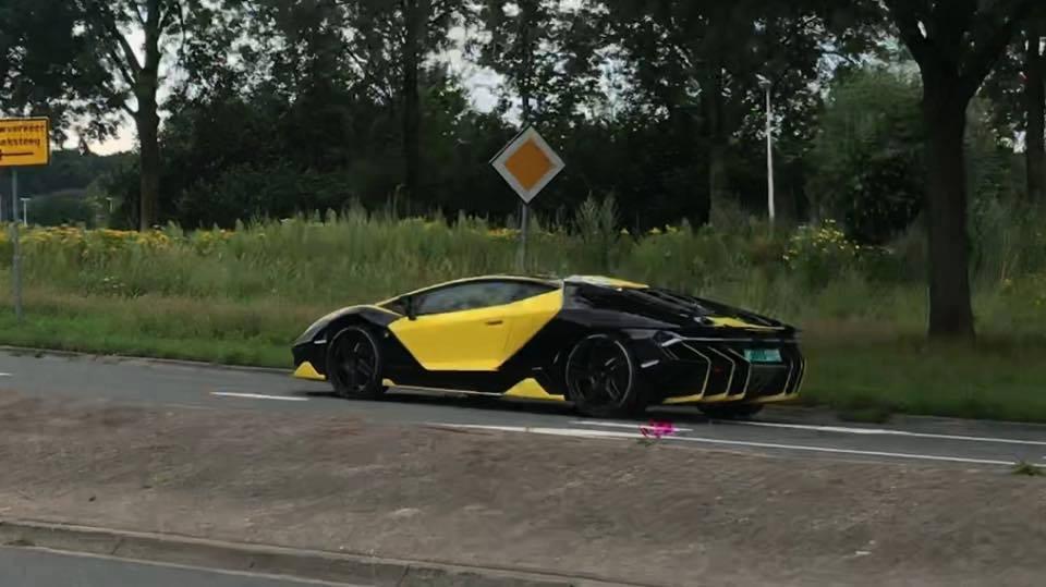 Dutch Lamborghini Centenario With Unique Spec Spotted The Supercar