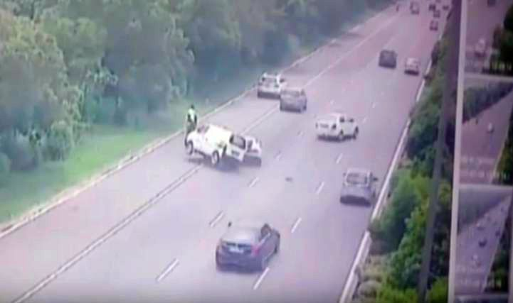 Lamborghini Huracan crash-Noida Expressway