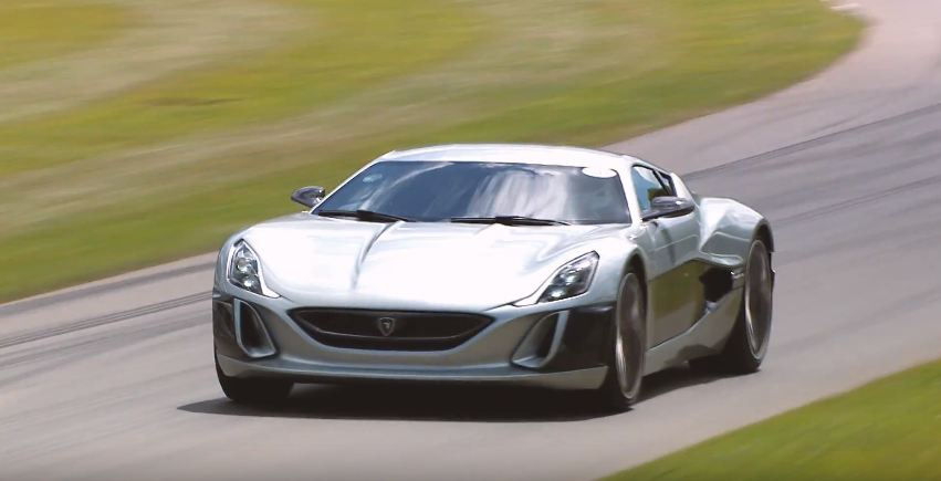 Rimac Concept One-Goodwood hill climb Record