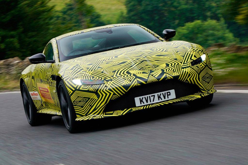 Aston Martin V Vantage Previewed The Supercar Blog - 2018 aston martin v8 vantage