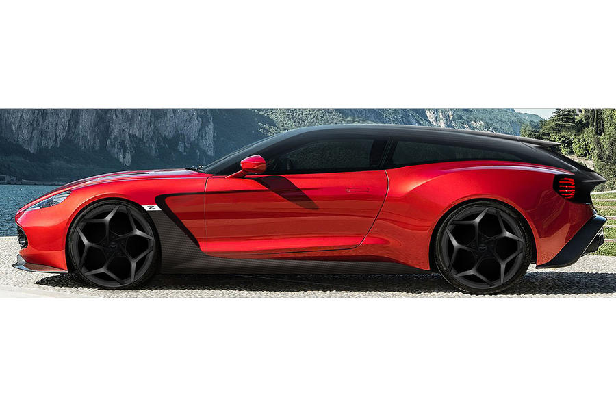 Aston Martin-Vanquish Zagato-Shooting Brake-sketch