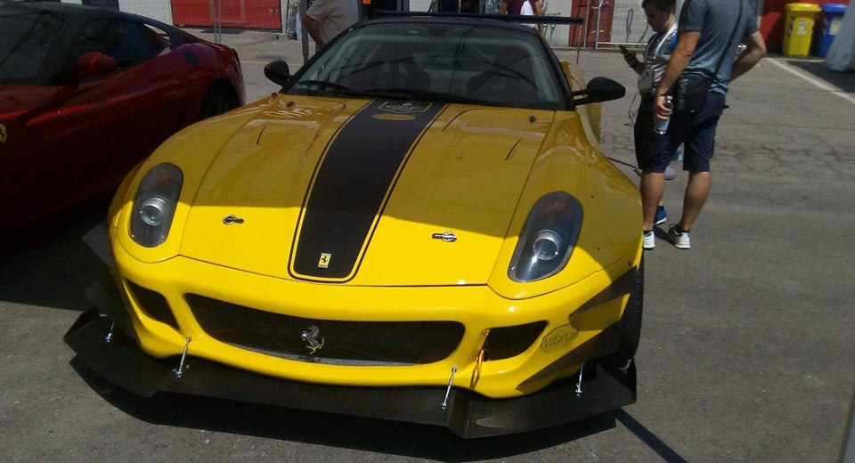 Ferrari 599 GTB Drift car-1