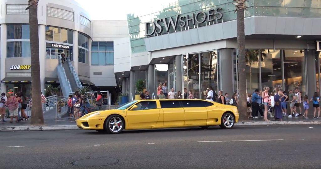 Ferrari limousine-360 Modena-Los Angeles