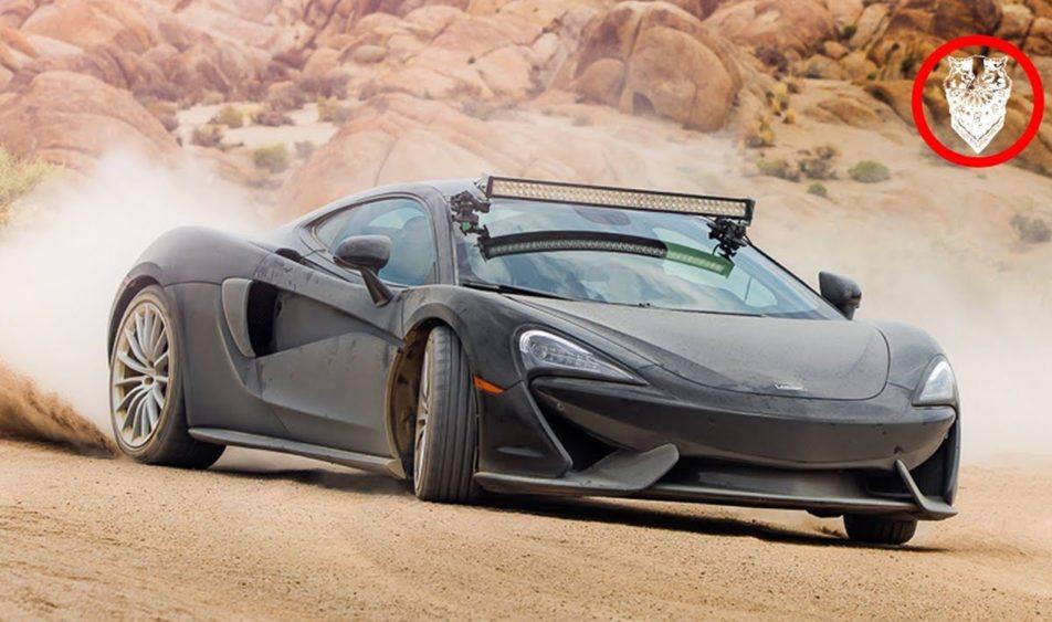 McLaren 570GT-offroad
