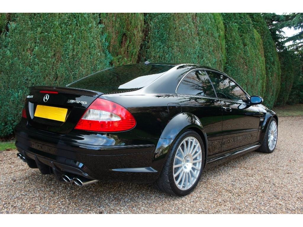 rare, rhd mercedes-benz clk63 amg black series for sale in the uk