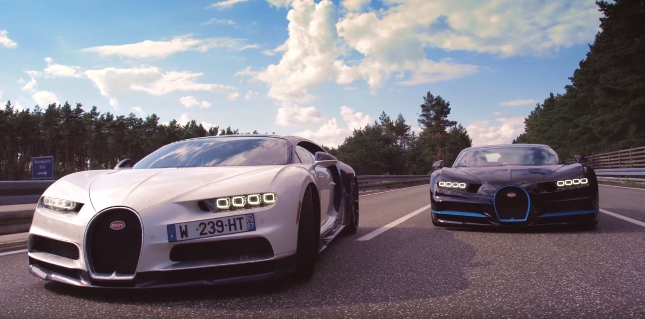Video How Do You Film A Bugatti Chiron At 249 Mph The Supercar Blog