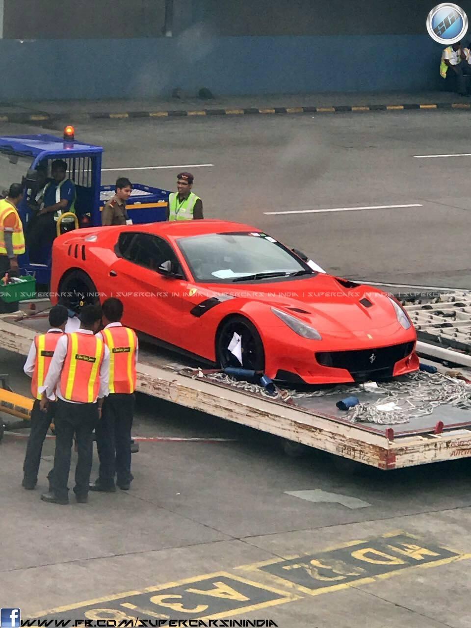 Ferrari-F12tdf-India