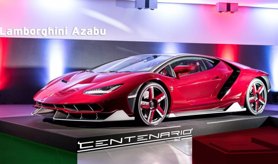 Japan S First Lamborghini Centenario Delivered The Supercar Blog