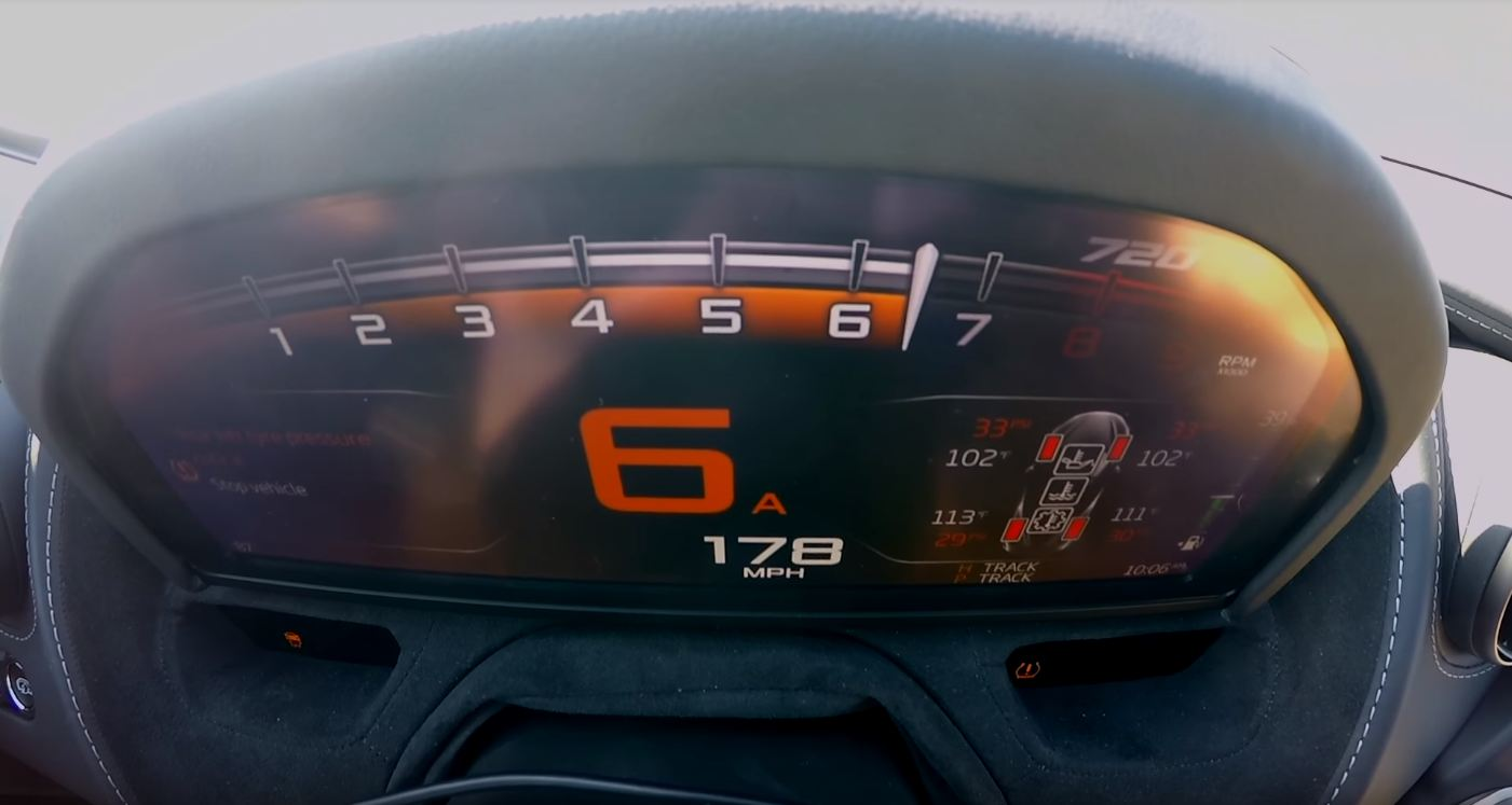video: mclaren 720s is faster than a bugatti veyron over 1/2 mile