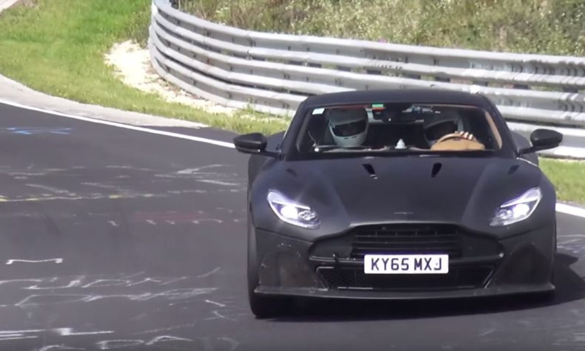 Next Gen Aston Martin Vanquish Spotted At The Nurburgring The Supercar Blog