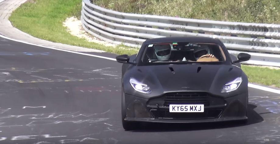 Next-gen Aston Martin Vanquish-Nurburgring-spy shots