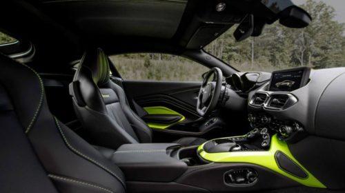 2018 Aston Martin Vantage-interior-1