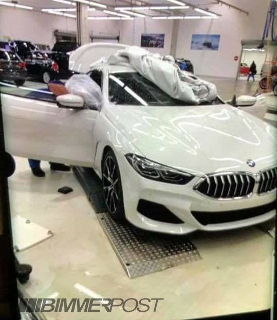 BMW 8 Series front-leaked-bimmerpost-1