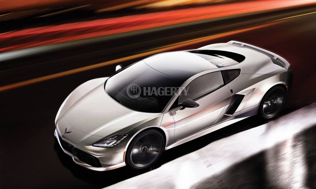 Mid-engine Corvette-C8-Hagerty-rendering-1