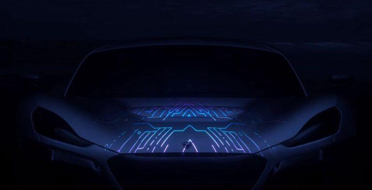 Rimac Concept Two-teaser