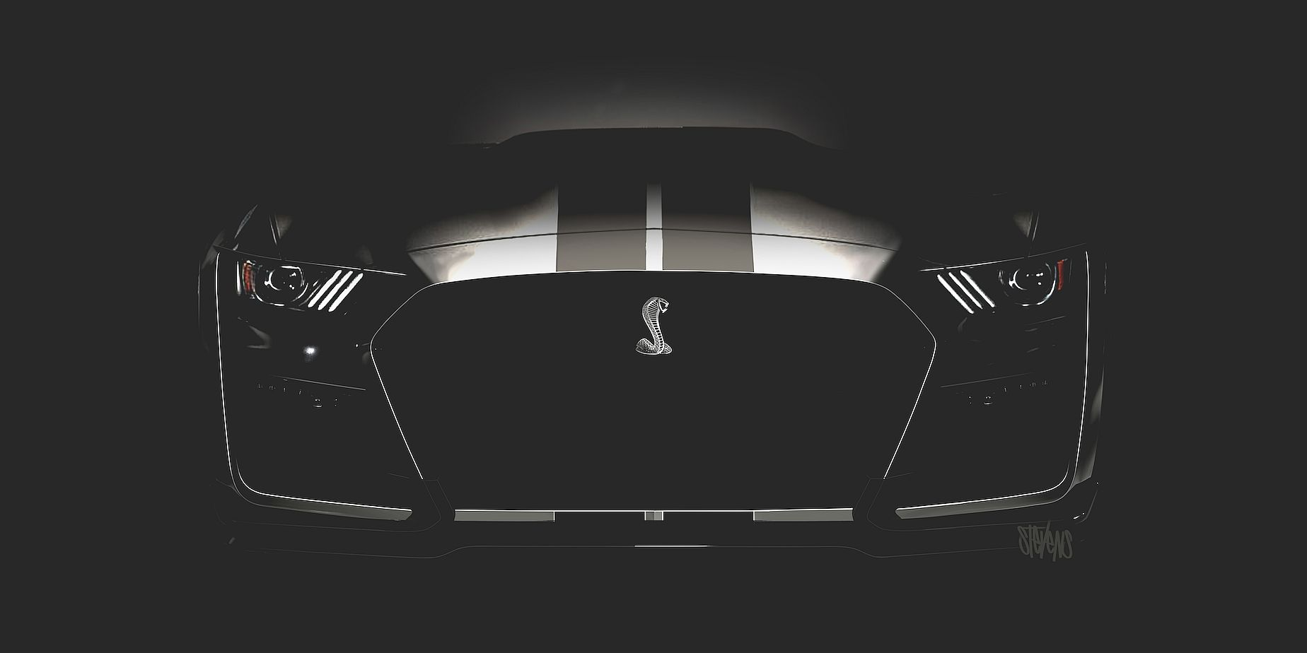 Shelby GT500 teaser image
