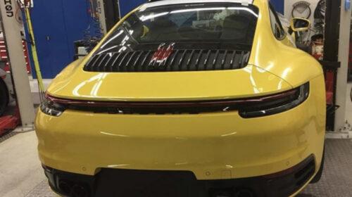 2019 Porsche 911 Carrera S-leaked image