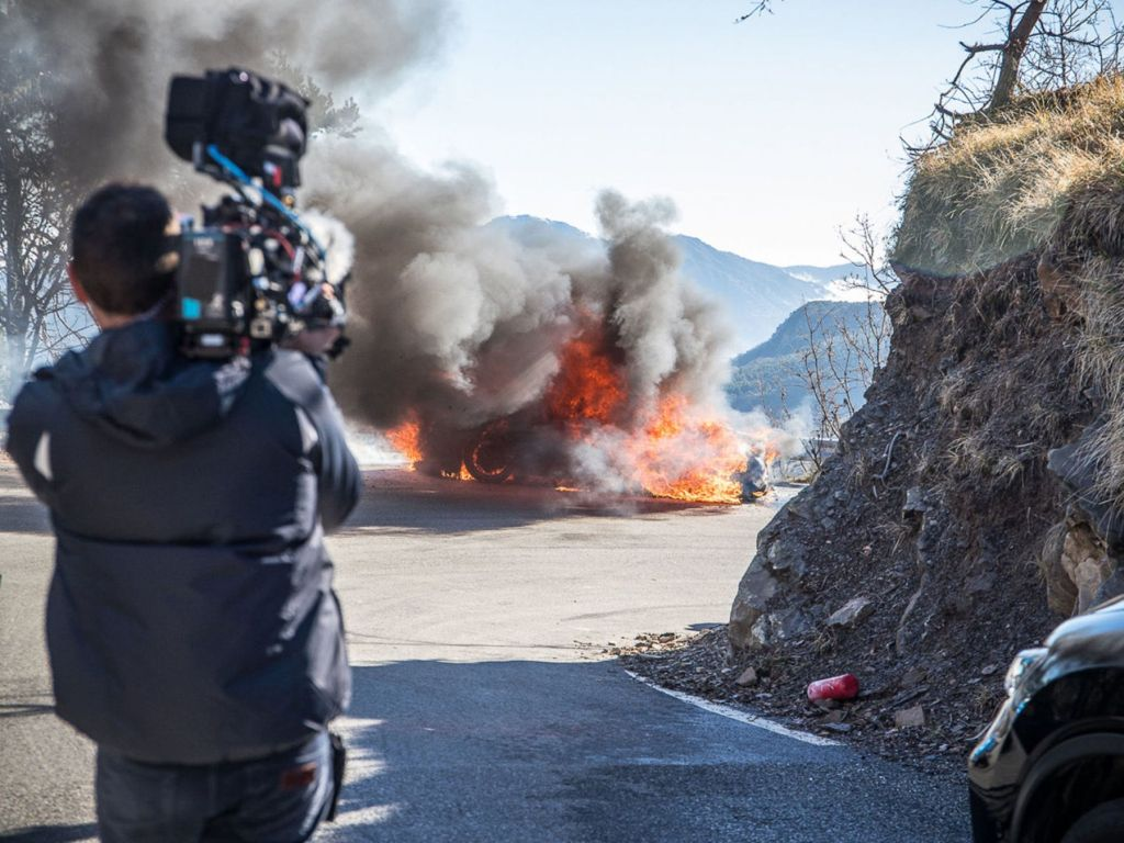 Top Gear-Alpine A110-Monaco-Fire-1