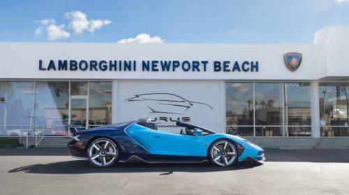 Blue-Cepheus-Lamborghini Centenario Roadster-Newport Beach-2